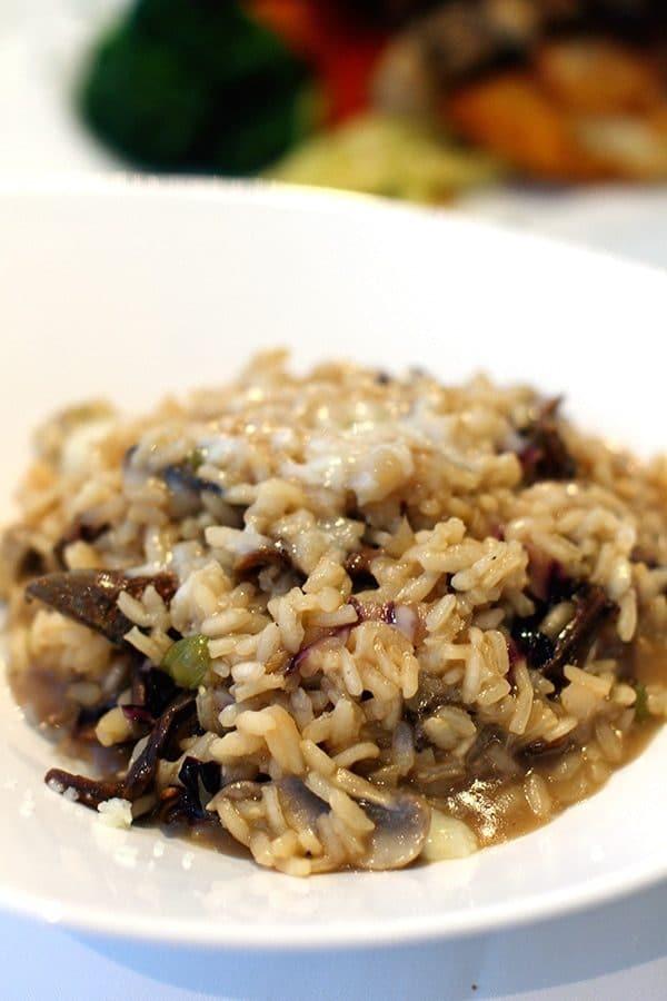 recette risotto al funghi champignons sur. Black Bedroom Furniture Sets. Home Design Ideas