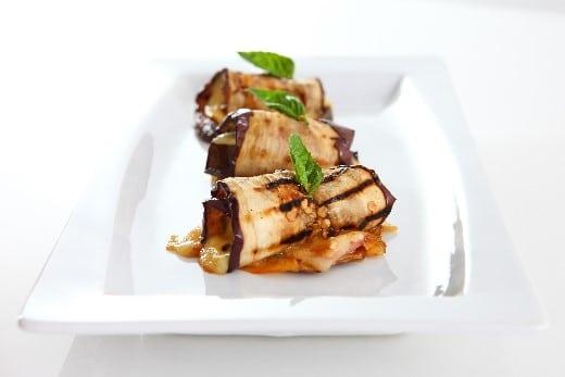 Recette aubergines grill es farcis la ricotta cuisine italienne - Aubergine grillee a l italienne ...