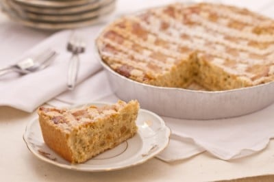 Recette de pastiera napolitaine le g teau de p ques sur - Cuisine italienne dessert ...