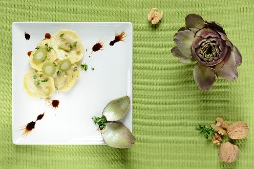 Raviolis-Ricotta-artichauts